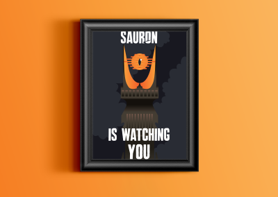 Sauron is watching you !
